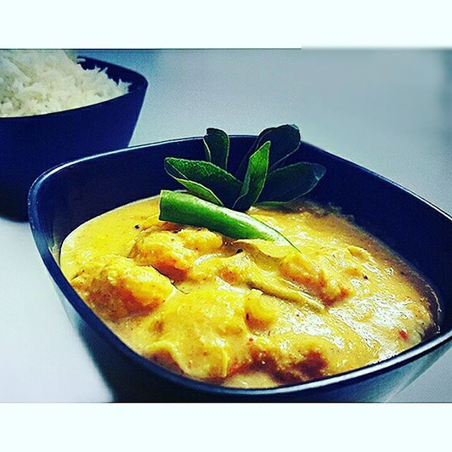 Spicy Mango & Coconut Prawn Curry image