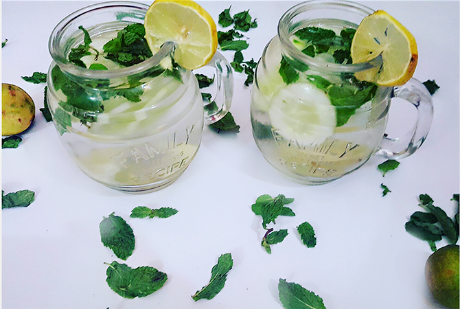 Summer Detox: Cucumber Lemon Water image