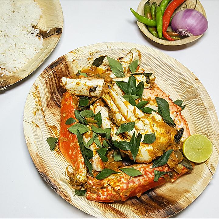 Coconut Masala Crab image